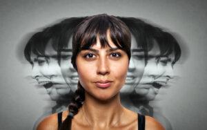 De symptomen van schizofrenie